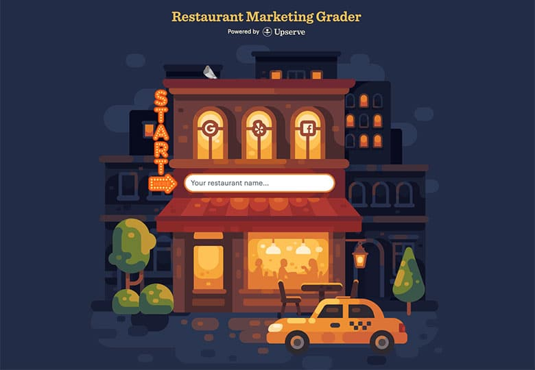 Restaurant Marketing Grader